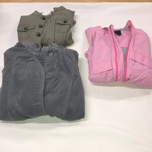 Lot of three girl jackets